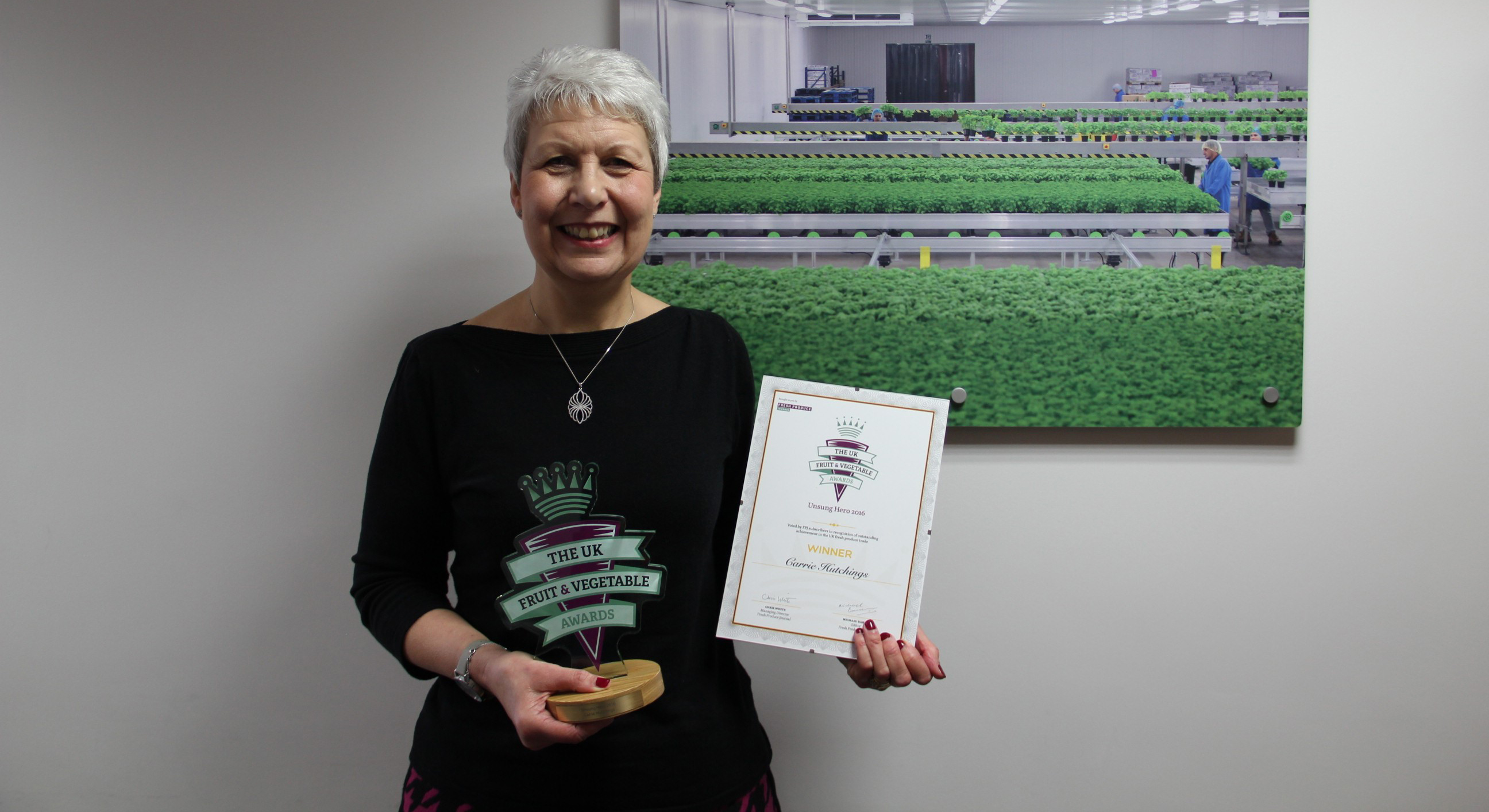 Vitacress claim two wins at UK Fruit & Vegetable Awards