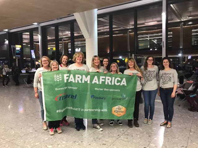 Vitacress Supports Farm Africa's Big Beehive Build